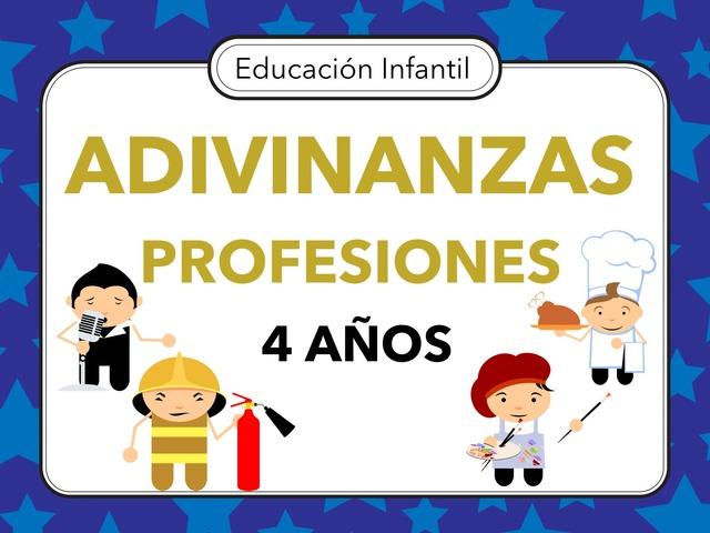 ADIVINANZAS PROFESIONES by Miguel de Cervantes