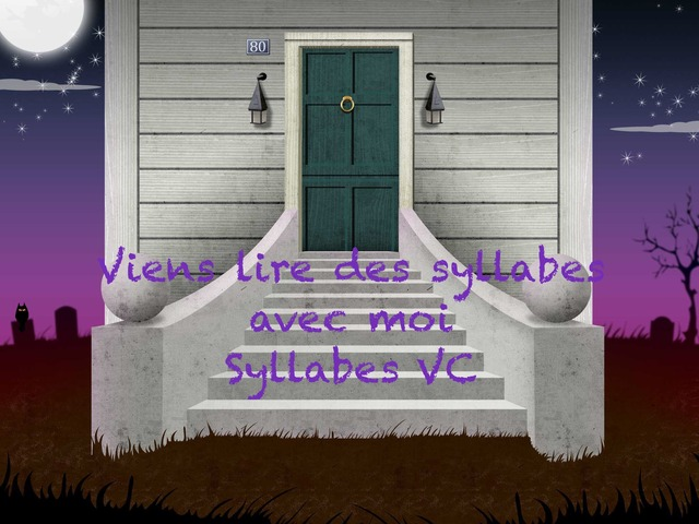 Syllabes CV  by Annabelle Charest