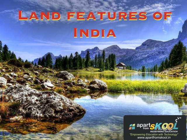 Land Features Of India  by TinyTap creator