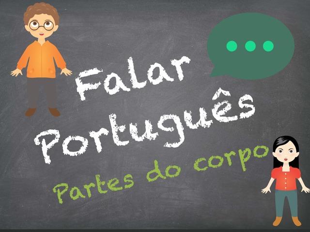 Falar Português (partes do corpo) by Inês Ruxa