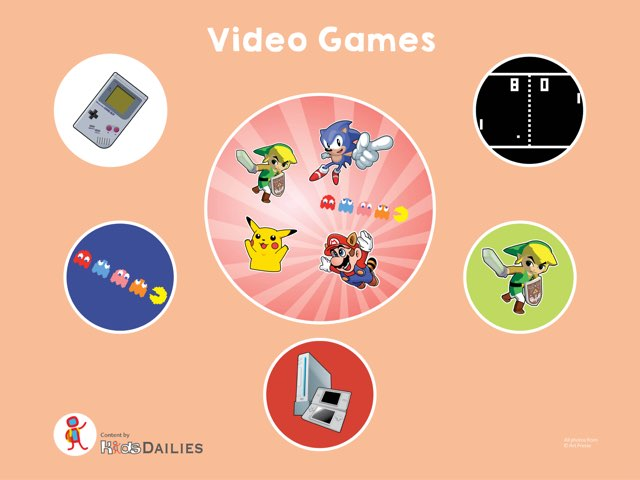 Video Games by Kids Dailies