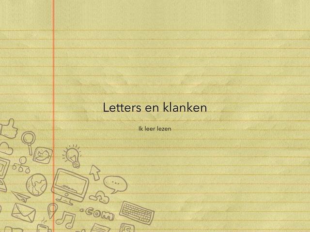 Letters en klanken by Frieke Vanderzijpen