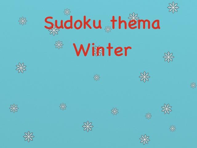 Sudoku Thema Winter Niveau 1 by Stedelijke Basisschool Hasselt