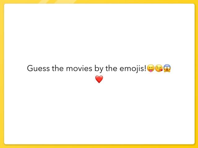 Guess The Movie by Dorka Krecz