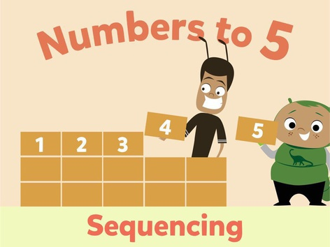 Numbers To 5: Sequencing by Math Learning Plan