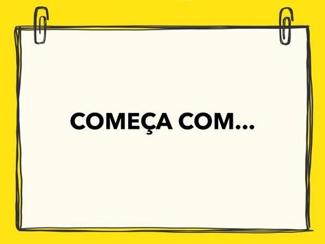 Começa Com... PA-PE-PI-PO-PU by Nucleo Aprendizagem