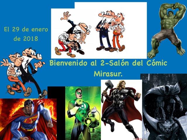 Salón Del Cómic  by Hugo Leyguarda