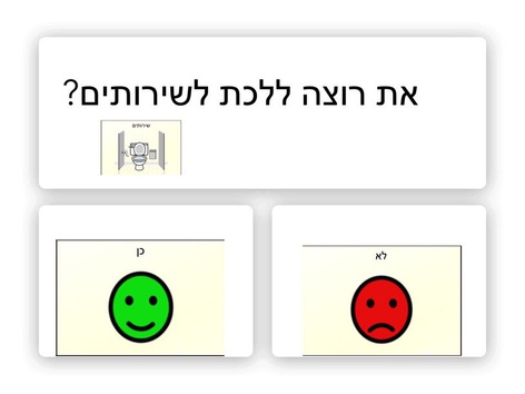 כן או לא כתיבה by בר ישראלי