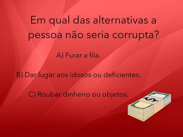 Jogo da Corrupção - 11 by Rede Caminho do Saber