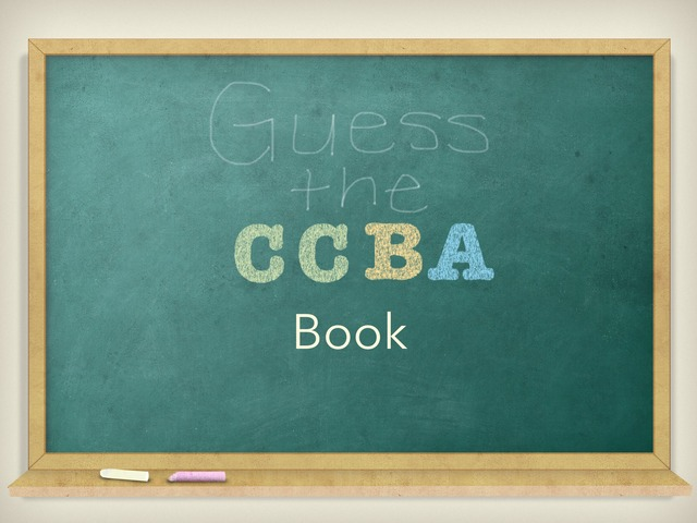 Guess The CCBA Book by Kristen McCann