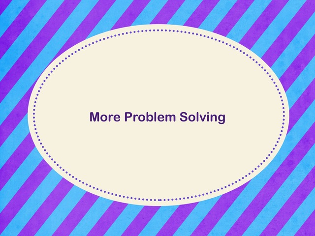 Problem Solving by Federica Carulli