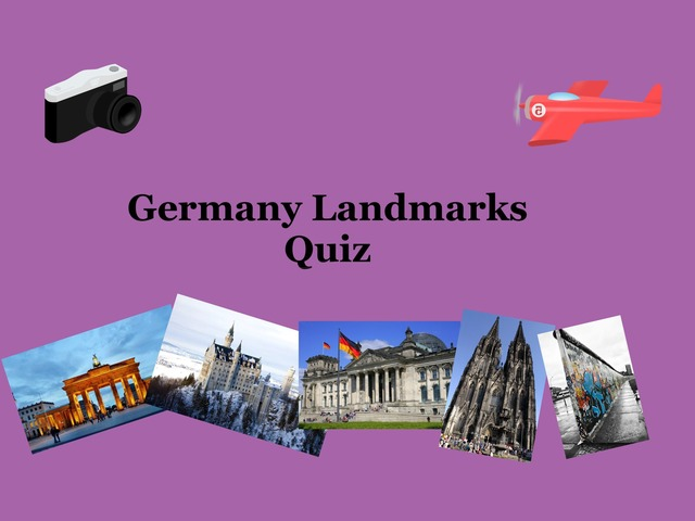 Germany Landmarks Quiz by Josh Dobos