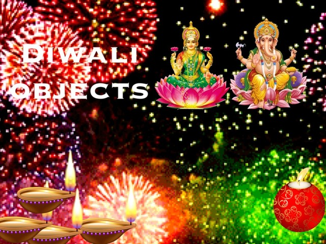 Diwali Objects by TinyTap creator