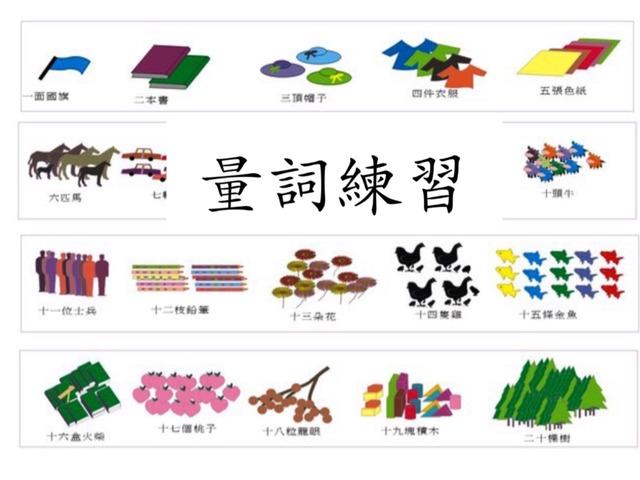 量詞練習 by Primary Year 2 Admin