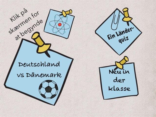 Tyskland Spil by Ida Knudsen