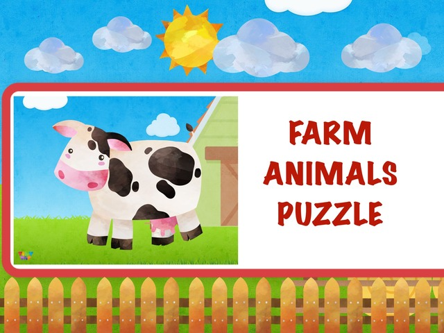 Farm Animals Puzzle by Hadi  Oyna