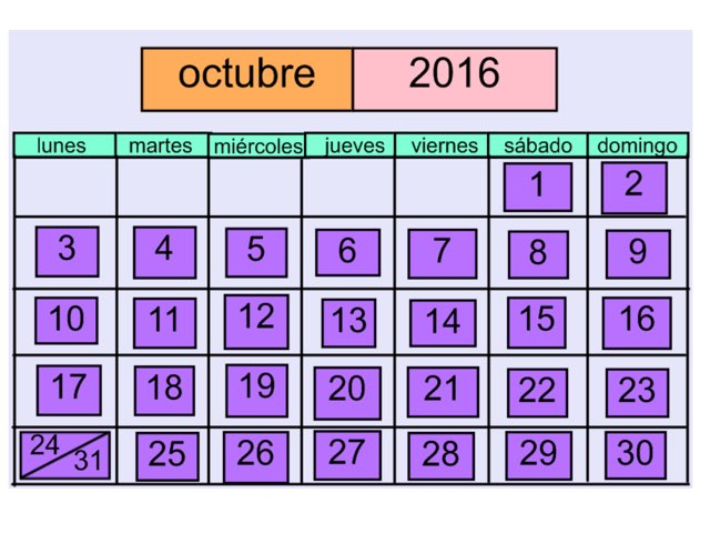 El calendario 2016 by Emily Urquizo