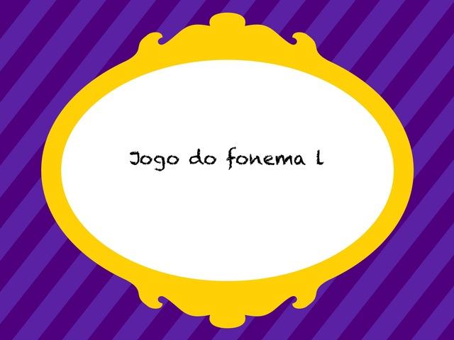 Jogo Do Fonema L (encaixe) by Flávia Gomes