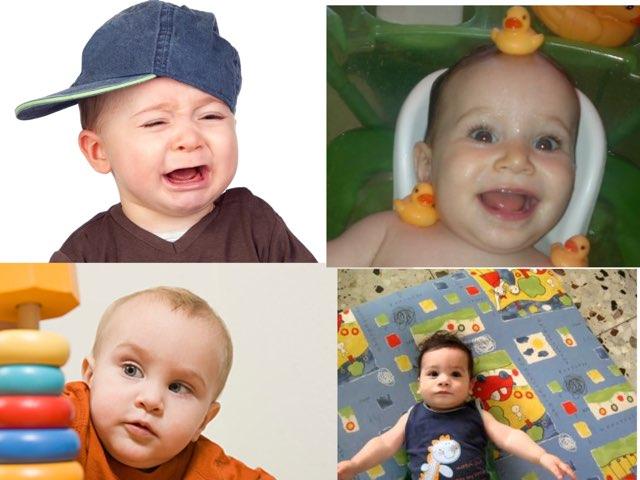 תינוק שמח עצוב כועס by Ira Gavrieli
