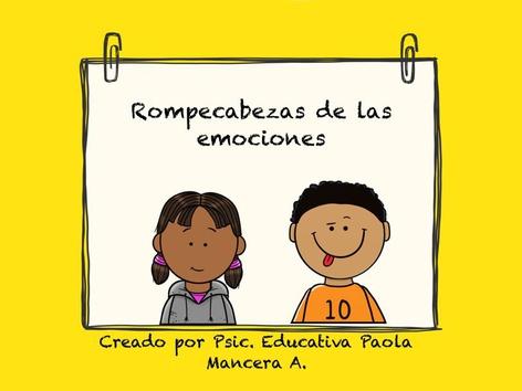 Rompecabezas De Las Emociones by Pao Mancera