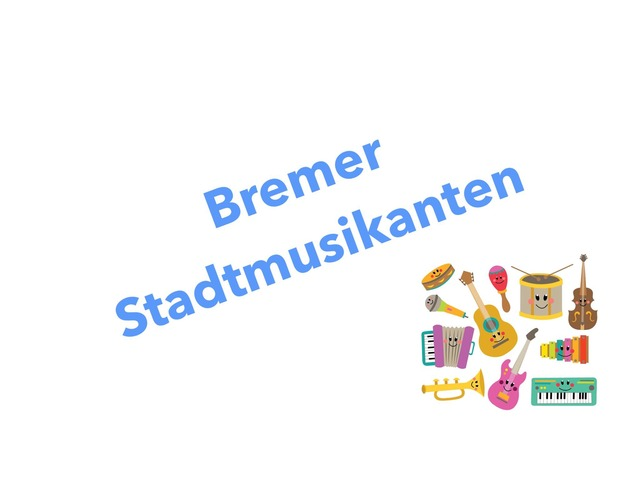 Die Bremer Stadtmusikanten by Nadja Blust