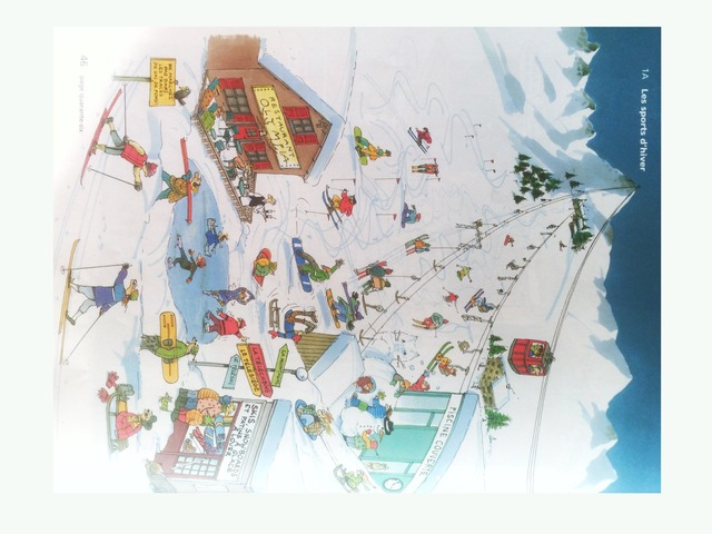 Les sports d'hiver by Roger Zimmermann