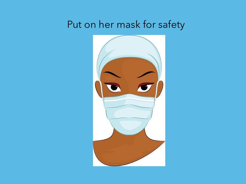 Mask safety by Charlotte Mitchell