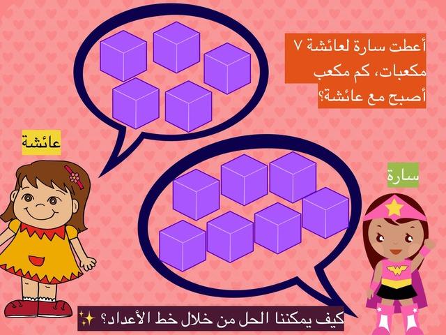 الجمع تصاعديا by Nouf Alyafei