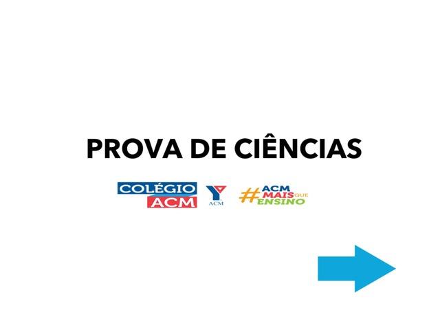 Prova de Ciências 2 Ano ACM  by Daianne Martins