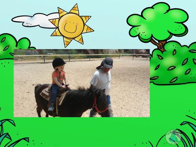 גיא רוכב על סוס by TinyTap creator