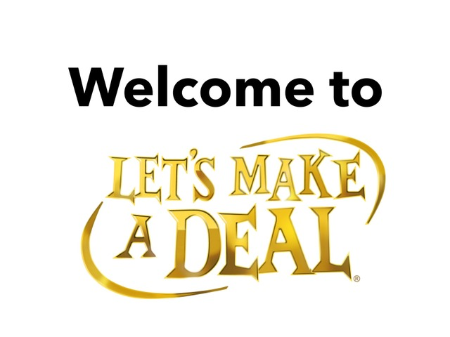 Let's Make A Deal by Julie Saadatmand