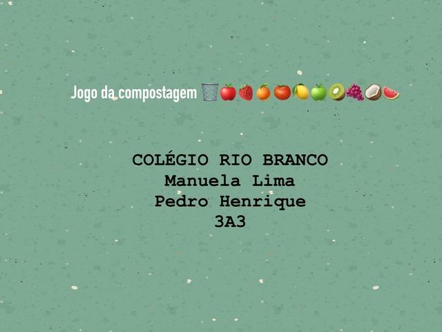 3A3 Manuela L. E  Pedro H. Reciclável by Laboratorio Apple CRB Higienop