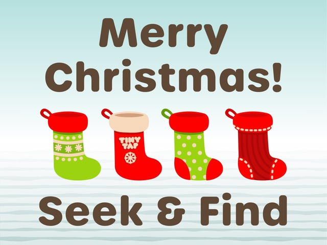 Christmas Seek & Find by Tiny Tap