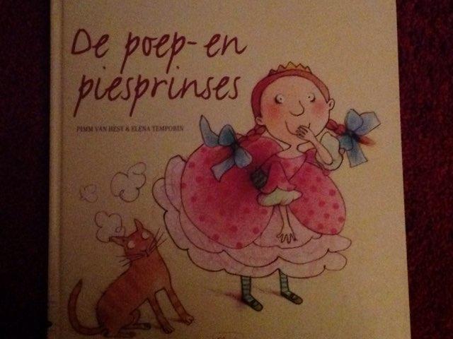 De Poep En Piesprinses by Vivian Meijer