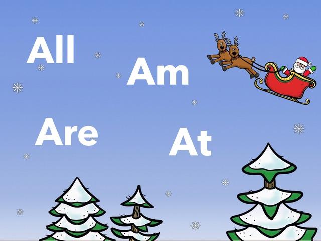 Christmas Time K Sight Word Max Array 12 by Amanda Whelan