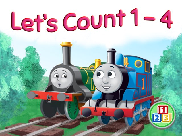 Let's Count 1-4 by Animoca Brands
