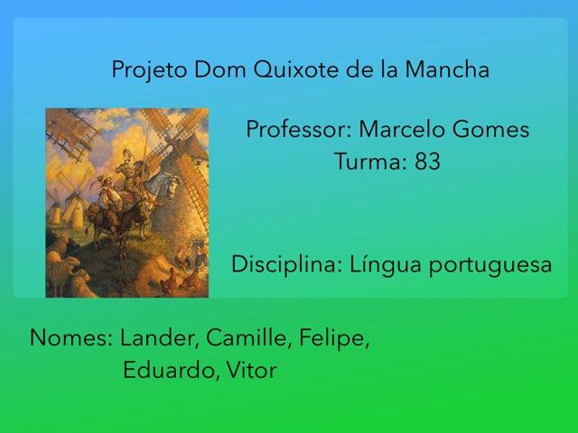Dom Quixote Copy 1 by Rede Caminho do Saber