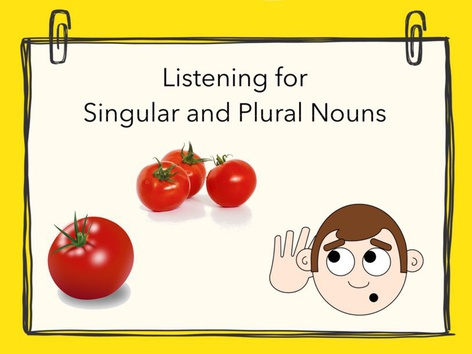 Plural Nouns #4 by Carol Smith
