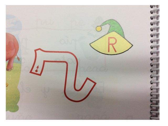 La letra R by Material Pictos