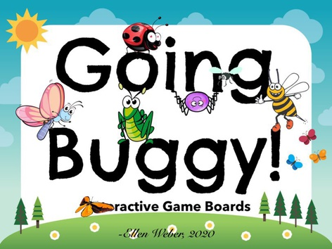 Going Buggy - Game Boards by Ellen Weber