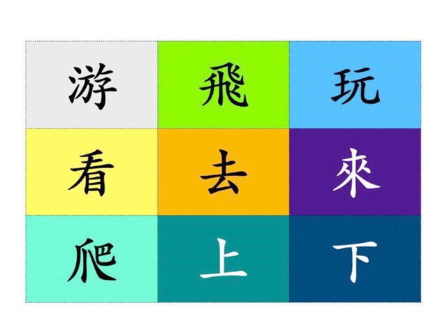 動詞 by Chinese International School Reception