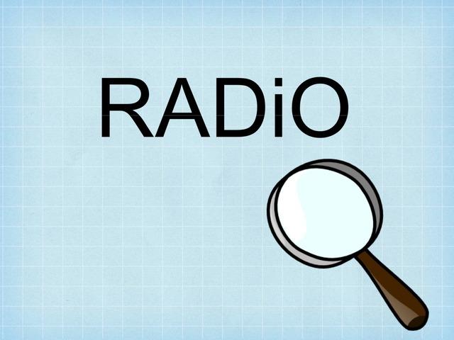 Dictée Radio  by Lydia Bu