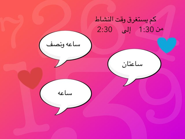 الزمن المنقضي by lina aa