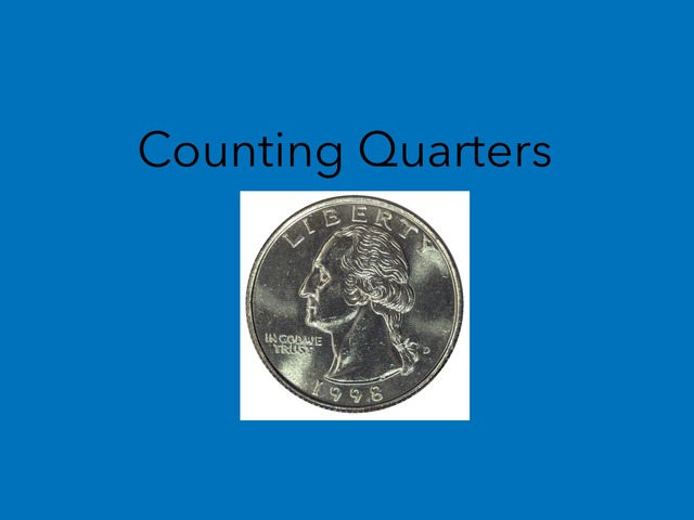 Counting Quarters by Lori Board