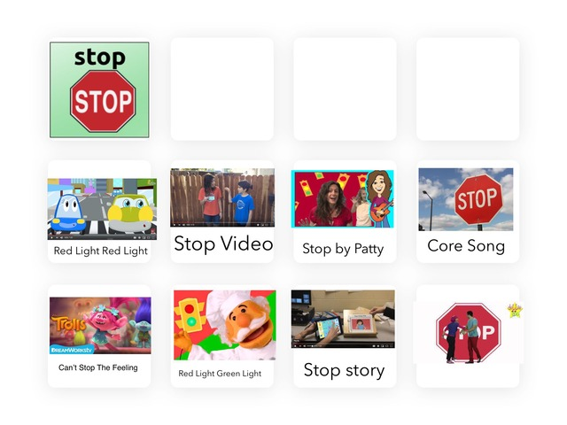 Core Word Stop by Kristin Meadows