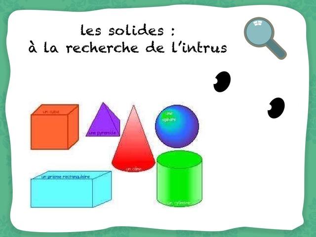 Un Intrus Chez Les Solides  by Marie S