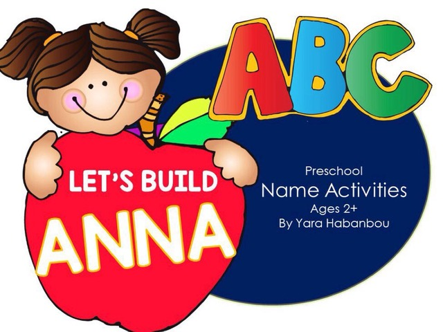 Name Activities Let's Build ANNA by Yara Habanbou