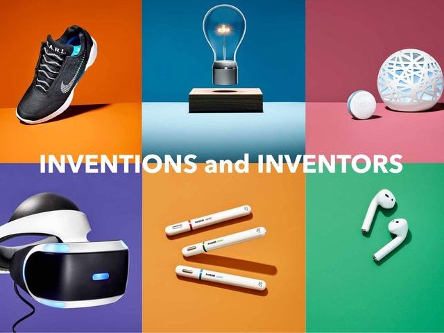 INVENTIONS AND INVENTORS by Sara Burgueño Peña
