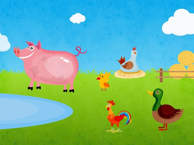 بازل حيوانات المزرعة by Mazen Dibse