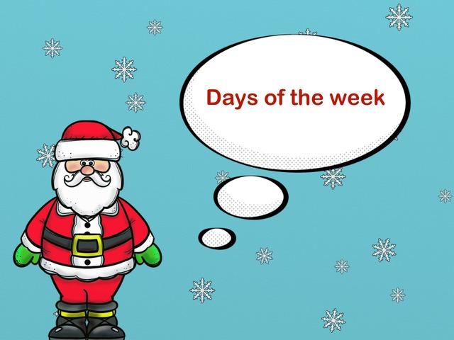 Days Of The Week by Jose Sanchez Ureña